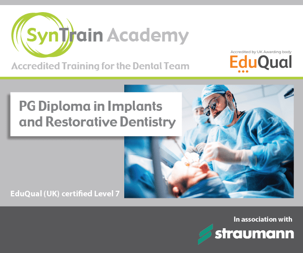 PG Diploma in Implant and Restorative Dentist