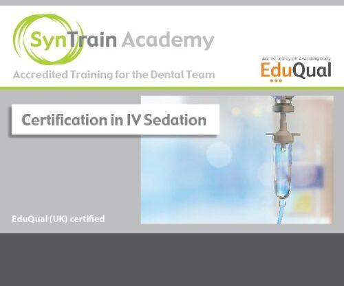 Certification in IV Sedation